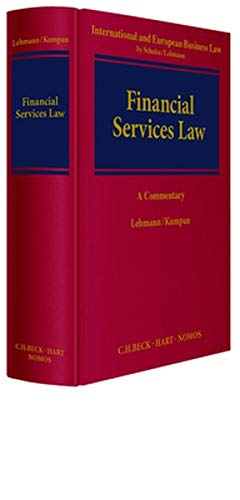 European Financial Services Law: Article-by-Article Commentary