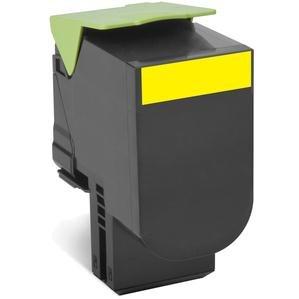 Preisvergleich Produktbild Lexmark 80C2HYE Toner gelb