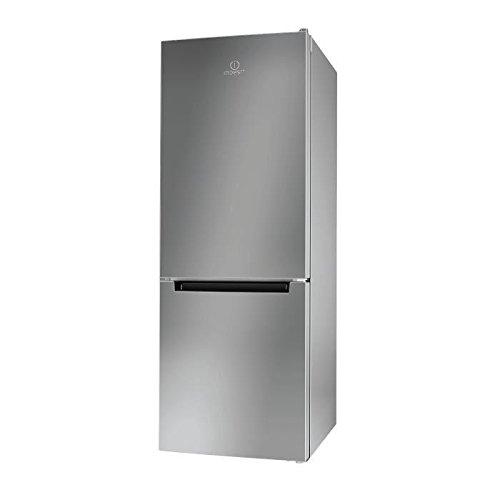 Indesit - Lr6s1s–frigorífico congelador inferior 271l silver