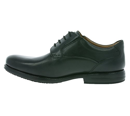 Clarks Shoes Hopton Walk Black Leather