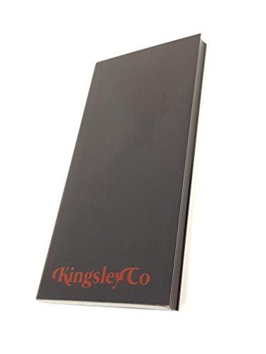 Kingsley Finish (Tragbare Handy Ladegerät–Slim, Sleek Power Bank, dass geht, wo der Tag Sie | 10000mAh fÜr iPhone iPad Mini Android Samsung Plus USB | dauerhafte Built in Akku Pack)