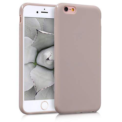 kwmobile Apple iPhone 6 / 6S Hülle - Handyhülle für Apple iPhone 6 / 6S - Handy Case in Creme matt