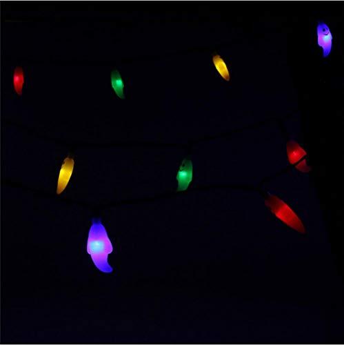 Solar süße Geister Lichterkette für Halloween Party Dekoration LED Outdoor String Licht dekoratives Licht (Halloween Outdoor-dekorationen Mit Geist)
