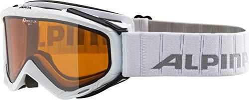 Alpina Skibrille Spice DH White, One Size