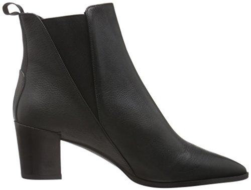 Oxitaly Damen Ronny 37 Chelsea Boots Schwarz (Nero)