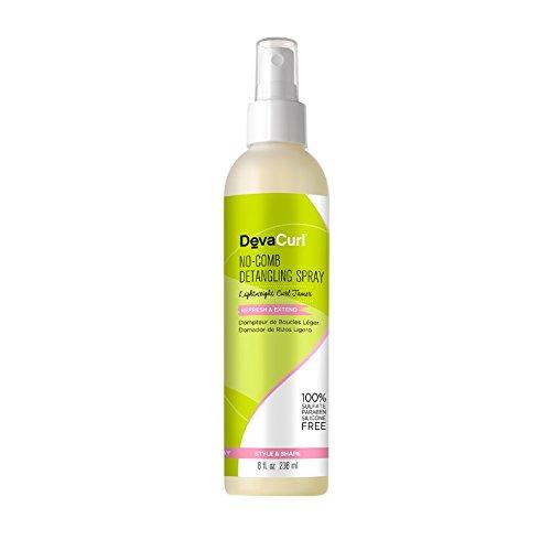DevaCurl No-Comb Detangling Spray (Lightweight Curl Tamer - Refresh & Extend) 236ml