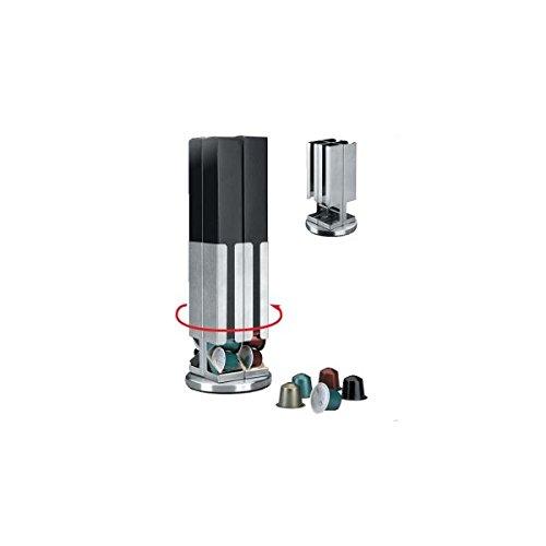 Lacor 68264- Supporto dispensa inox capsule caffè 4 unità