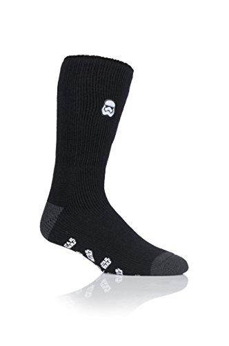 Mens 1 Pair SockShop Heat Holders Slipper Socks