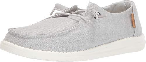 Dude Shoes Die Wendy Hellgraue Chambray Der Frauen UK3 / EU36