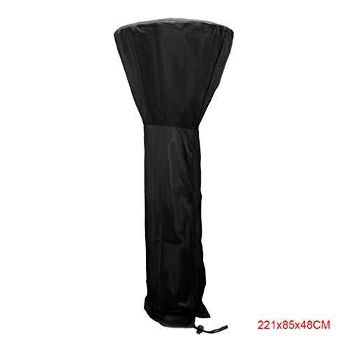 Provide The Best 210D Oxford Cloth wasserdichte staubdichte Außen Gartenhof Heizpilz Abdeckung Zipper Staub Sheild