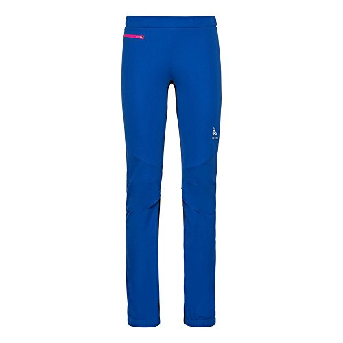 Pants Aeolus Windstopper - Pantalon ski nordique femme Lapis Blue / Black