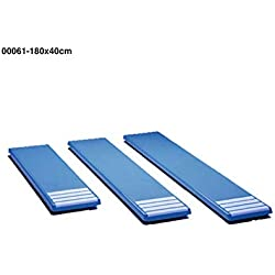 00061 mesas para trampolines anchura 0,40m, color blanco. longitud 2,9m, Poliéster y fibra de vidrio.