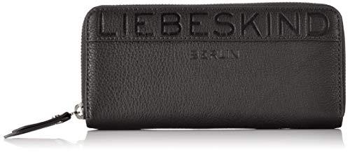 Liebeskind Berlin Damen Urelainw8 Urban Geldbörse, Schwarz (Black), 2.0x10.0x19.0 cm -