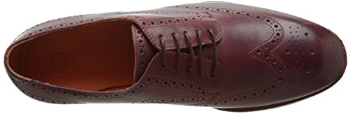 HudsonTalbot - Brogue uomo Marrone