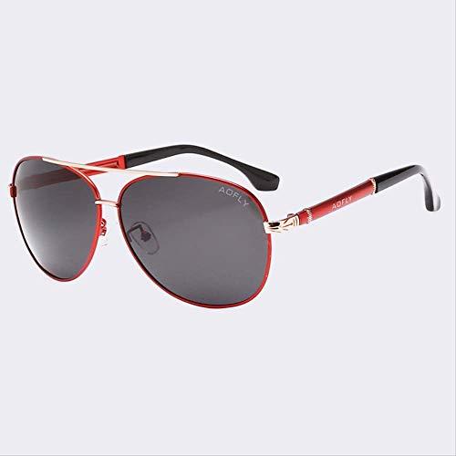 JU DA Sonnenbrillen Mode Sonnenbrille Männer Polarisierte Sonnenbrille Männer Fahren Spiegel Beschichtung Punkte Brillen Männlich Pilot Sonnenbrille Uv400 C04