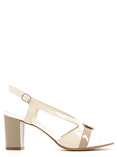 Grace shoes E6493 Sandalo tacco Donna Beige 34