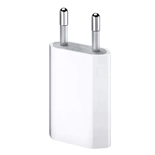 ultrapower100® Ladegerät für iPhone 1A 5W 1400 für iPhone 5 5C 5S 6 SE 6S 7 8 X XS XR XS Max USB Netzteil Hauptstecker 5w Usb