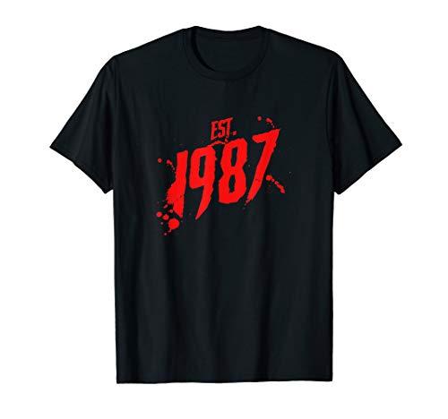 Slasher Horror Movie Geburtsjahr T-Shirt ()