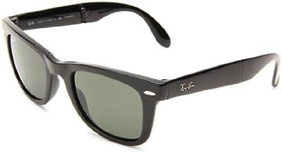 Ray-Ban - Gafas de sol RB4105 Wayfarer Plegable Wayfarer Polarizadas 50 mm