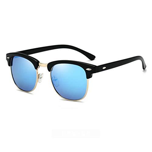 Katzenauge Stil polarisierte Sonnenbrille Männer Frauen polarisierte Linse Halbrahmen UV400 staubdichte Brille für Outdoor-Fahren Camping Angeln