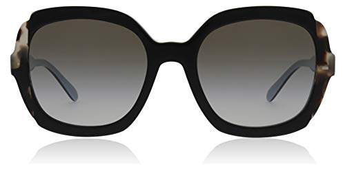 Ray-ban 0pr 16us occhiali da sole, nero (black azure/spotted brown), 54 donna