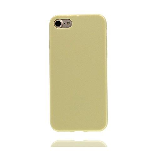 iPhone 6 / 6s Custodia, copertura per iPhone 6s [TPU Silicone Transparent] Sofi Durable Custodia Ultra sottile antigraffio Case Cover per iPhone 6 / 6s (4.7inch) - rosso albicocca