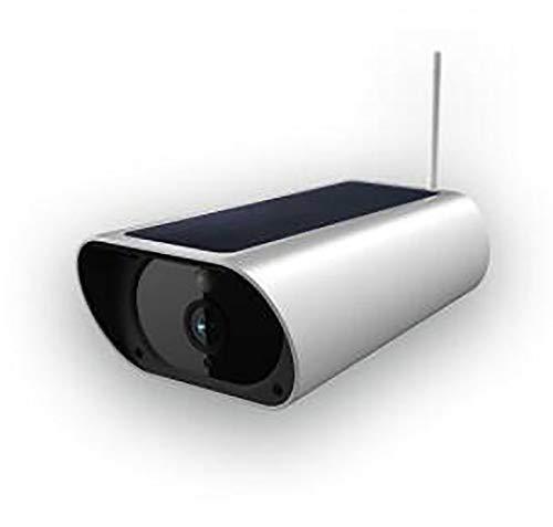 FHGH Überwachungskamera aussen WLAN,Nachtsichtfreie Verdrahtungs-Solar-Überwachungskamera mit niedriger Leistung für Infrarot-Nachtsicht