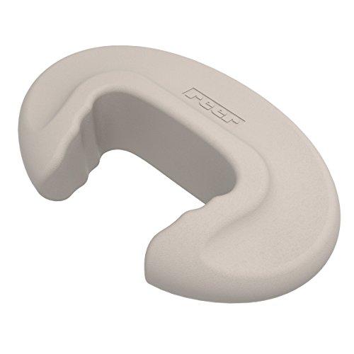 reer 70017 DesignLine Türstopper, 2 Stück, taupe. Die neue Generation von Sicherheitsartikeln. Dezentes Design für ein modernes Wohnambiente.