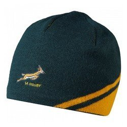 2015-2016 South Africa Springboks Rugby Gameday Beanie (Green)
