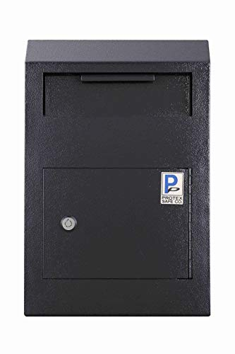 Protex Drop Box Safe (WDS-150), Schwarz