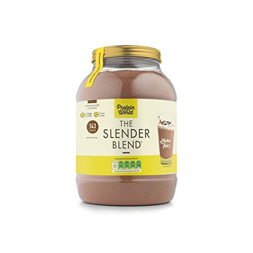 Protein World - The Slender Blend Weight Loss Meal Replacement Shake - 1 2  kg Chocolate