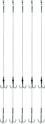 Storfisk fishing & more Stahlvorfach 7x7 Soft 2 Drillingen zweiter Drilling ist Höhenverstellbar 5 St, Größe:6 -