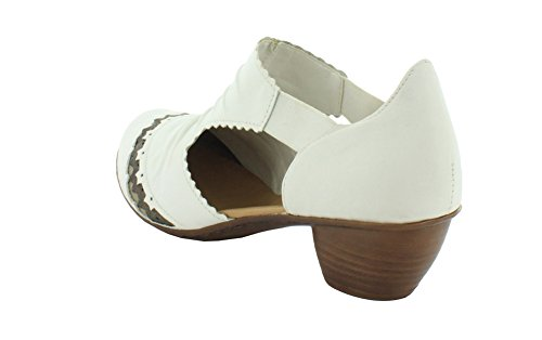 Rieker Scarpe Bianco 43783-81 Bianco