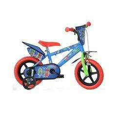 """Dino- Bicicletta per Bambini Pjmasks 12"""" Nylon PJ Masks, 412UL-PJ"""