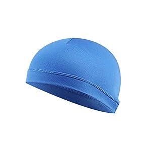 TIREOW Skihelm Kühlmütze Atmungsaktiv Feuchtigkeitstransportierender Sonnenschutzhelm Innere LinerMützeKuppelkappe Schweißband Mütze Hut Für Männer Frauen