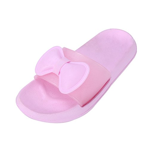 WILLIAM&KATE Pistoni Variopinti Per le Donne in Estate Casual Pantofole Anti-Slip Piano Indoor Slipper Sandalo Bagno Slipper Rosa