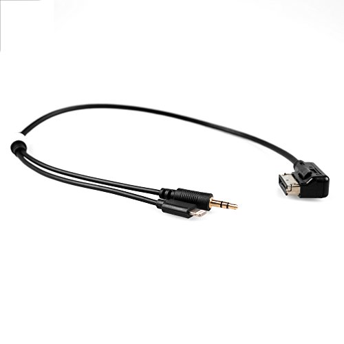 APPS2Car AMI MDI MMI Mp3 Music Interface Audio Adapter-Kabel 3,5mm AUX Lightening Kabel für Audi A3 A4 S4 A5 S5 A6 S6 A8 Q5 Q7 R8 VW Jetta GLI Passat CC Tiguan Touareg EOS für iPod iPhone 7 7S iPhone 6 6 plus 5S iPad Audi Audio-kabel
