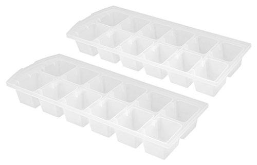 Metaltex 253517 Eiswürfelformer Ice 2-er Set aus Kunststoff