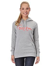 Burton Damen Kapuzensweater Zomina Fleece, heather grey, L, 274082064L