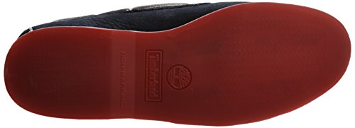 Timberland, 6305A, Classic 2 I Boat Herren, Größe 40, Blau/Navy with Red -