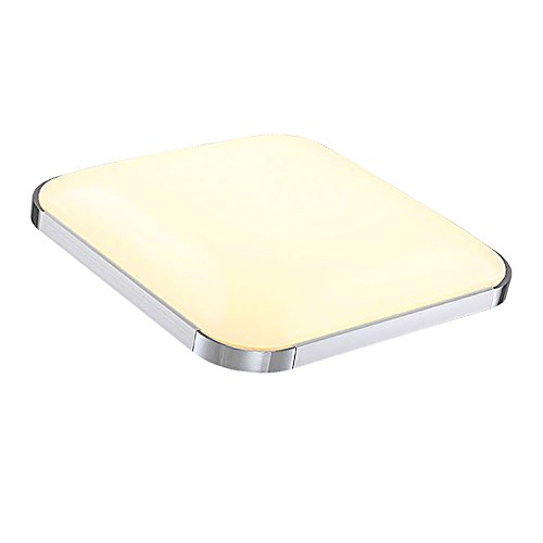 Preisvergleich Produktbild VINGO® 24W LED Deckenleuchte Warmweiß 2700-3200K Deckenbeleuchtung Markantes Design
