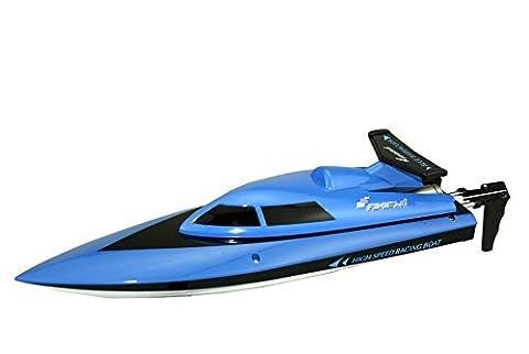 Amewi 26036 - Barracuda Mini Boot 2.4GHz RTR, blau