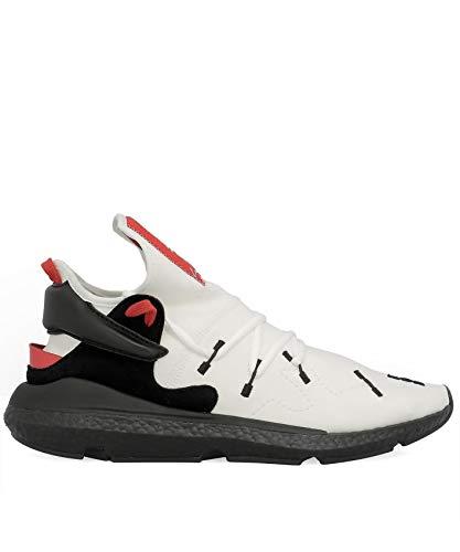 huge selection of 7aa87 454db ADIDAS Y-3 Yohji Yamamoto Herren Bc0964 Weiss Stoff Sneakers