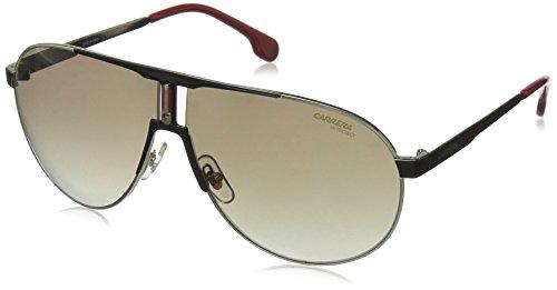 Carrera Unisex-Erwachsene 1005/S HA 2M2 Sonnenbrille, Schwarz (BLACK GOLD/BRWN SF), 66