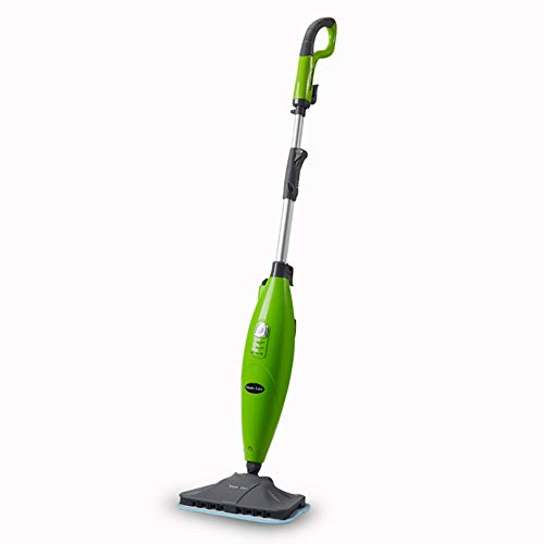Yttoo Mopa A Vapor, Mopa De Limpieza A Vapor Rotación De 360° Paño De Microfibras Ideal para Baño Cocina Alfombras Baldosas Y Cualquier Superficie Blanco Verde,Green