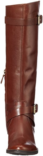 Geox Meldi, Stivali da Equitazione Donna Marrone (Brown)