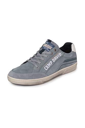 Camp David Herren Sneaker aus Leder mit Logostick