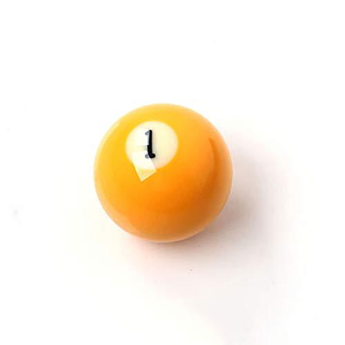 ASports Billardkugel, 2 1/16 Zoll (52,5 mm) Snooker-Billardkugel Kleine Kristall-Billardkugel, einzelne Kugel,1