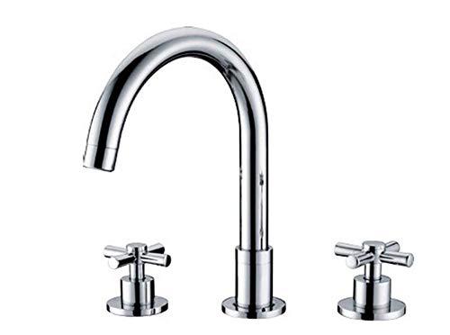 Küche Bad Wasserhahnklassische Doppelgriffe 8-Zoll-Wc Weit Verbreitete Wasserhahn-Waschbecken-Mischbatterien (8 Zoll Weit Verbreitete Wasserhahn)
