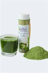 Sattvic Organic Wheat Grass Powder - 100 gms